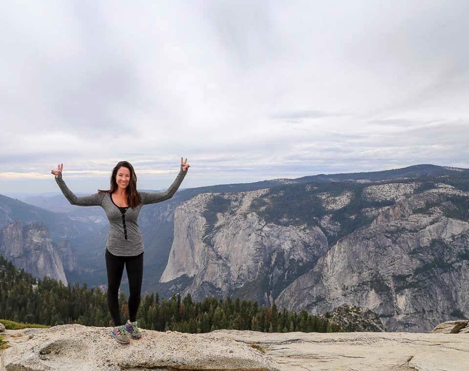 Hiking Yosemite Sunny Coastlines