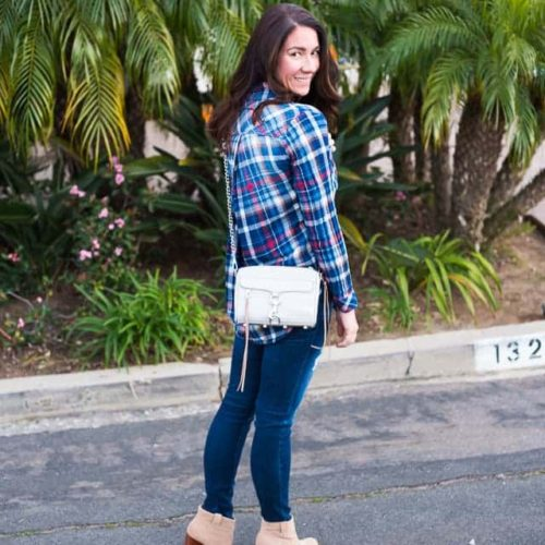 Casual Flannels... - Sunny Coastlines Style Blog