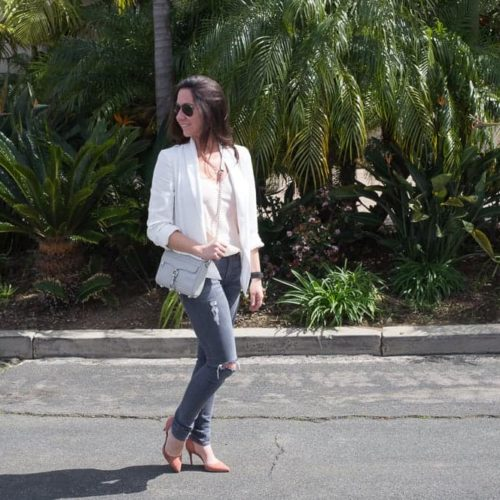 Pink and Grey...Sunny Coastlines Style Blog
