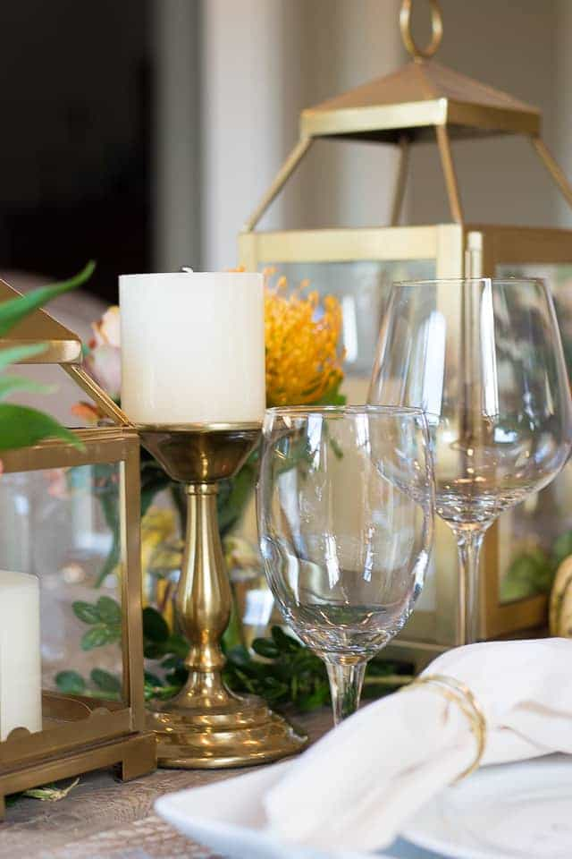 A Thanksgiving Tablescape ~ Sunny Coastlines Lifestyle