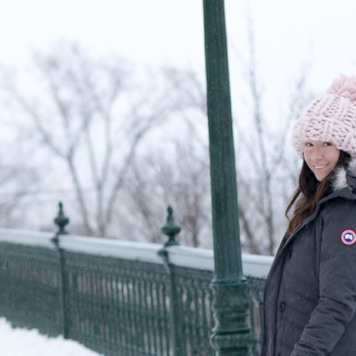 How to Stay Warm in Quebec City With Canada Goose ~ Sunny Coastlines Style