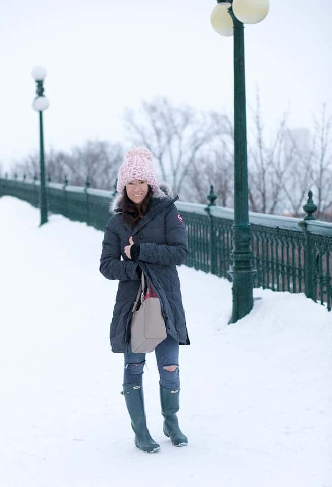 Staying Warm in Quebec City With Canada Goose ~ Sunny Coastlines Travel
