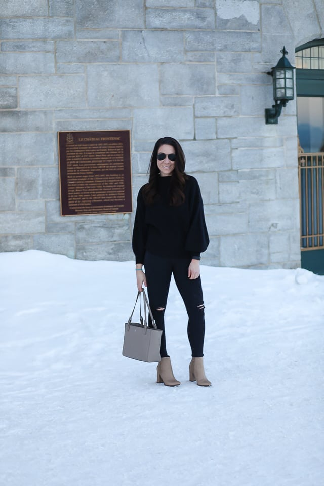 Monochromatic Style in Quebec ~ Sunny Coastlines Style