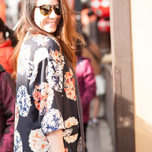 Eye Catching Spring Kimonos In Kyoto ~ Sunny Coastlines Style
