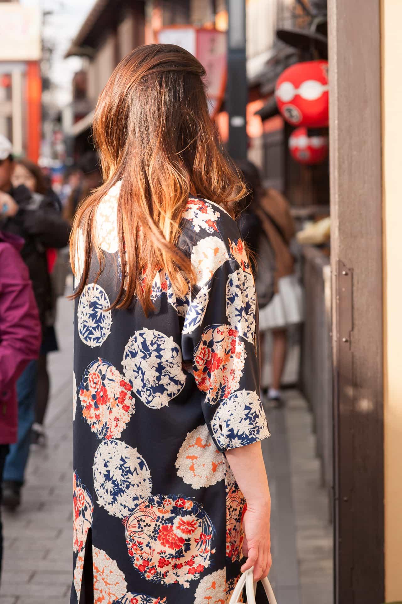 Eye Catching Spring Kimonos In Kyoto ~ Sunny Coastlines Style