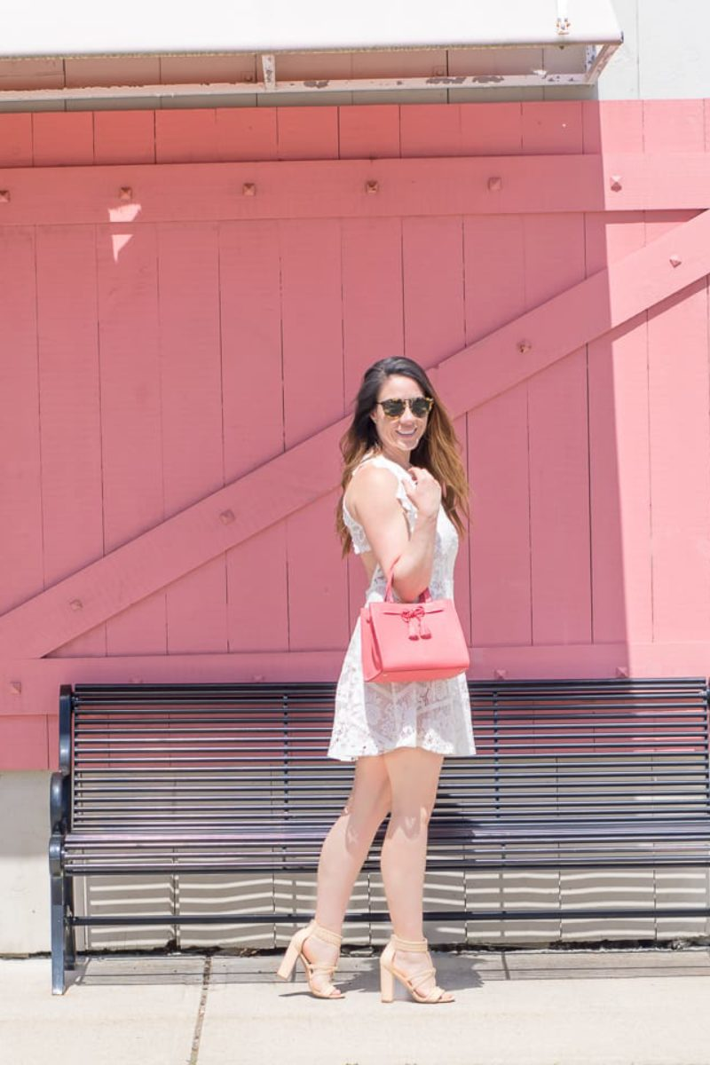 The Little Pink Door in South Shore ~ Sunny Coastlines Style