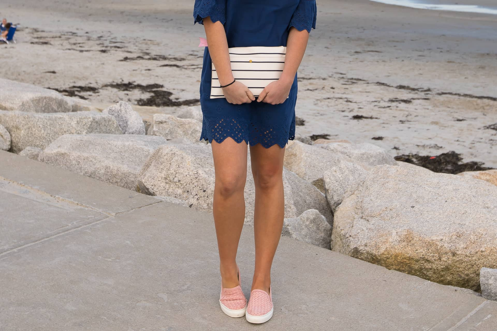 Navy Blue Dress in Scarborough, Maine